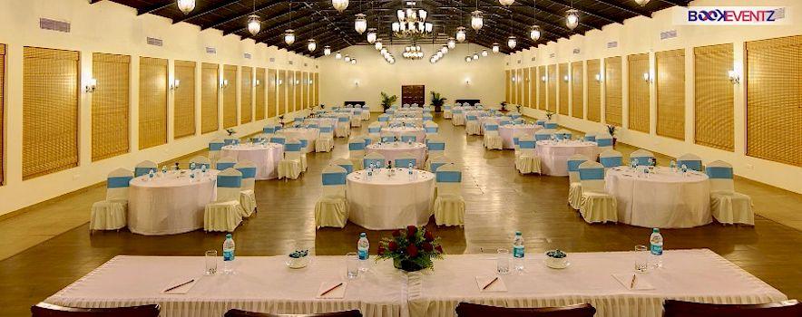 Bogmallo Beach Resort Goa. Banquet hall in Bogmalo